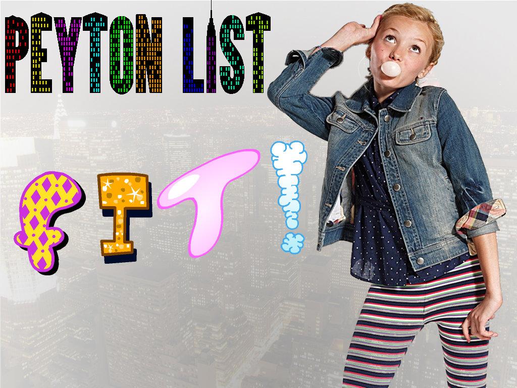 Peyton roi list peyton list is soo fit