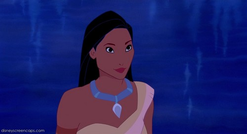 Belle and Pocahontas 壁纸 probably with a portrait entitled Pocahontas