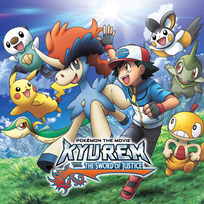 Pokemon the movie:Kyurem vs the sword of justice