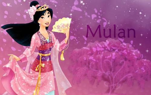 Princess 花木兰