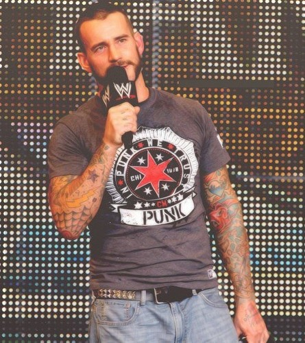 CM Punk wallpaper entitled Punk