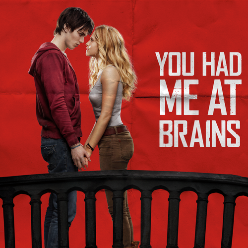 Warm Bodies Movie fond d'écran titled R and Julie
