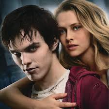Warm Bodies Movie پیپر وال with a portrait called R and Julie