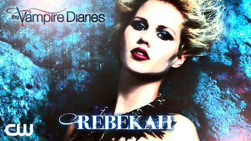 diários do vampiro wallpaper with a portrait entitled REBEKAH XXX