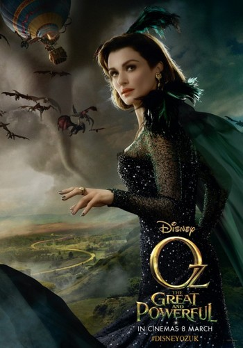 OZ: The Great and Powerful wallpaper possibly containing a dinner dress, a cocktail dress, and a dress titled Rachel Weisz - OZ: The Great and Powerful - Poster