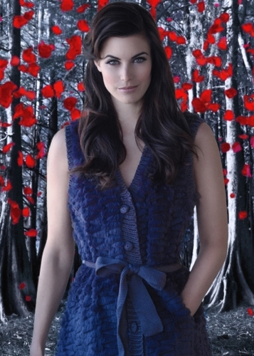 Once Upon A Time wallpaper probably containing a cocktail dress, a dinner dress, and a dress called Red/Ruby - Meghan Ory