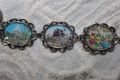 Retro Disneyland Postcards bracelet - disneyland fan art