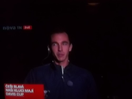 Rosol and Ochotska on TV interview after won DC 2012