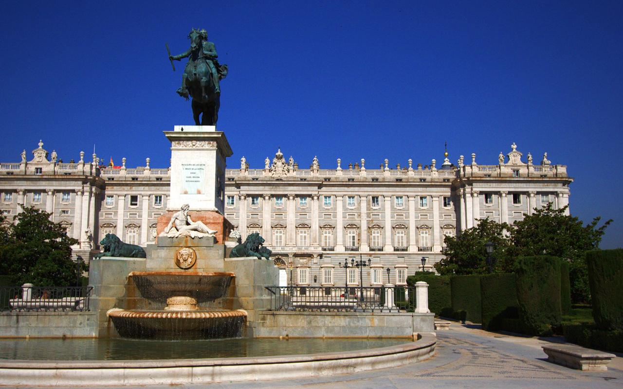 Royal Palace of Madrid - Spain Wallpaper (33604135) - Fanpop