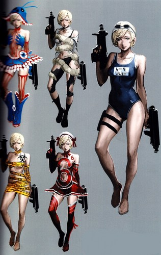 sherry Birkin wolpeyper called SB