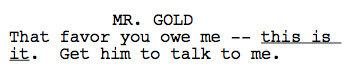 Script Teasers on 2x14
