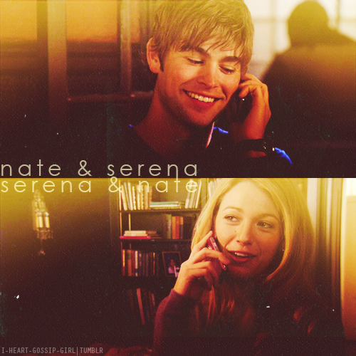 Serena and Nate tagahanga Art