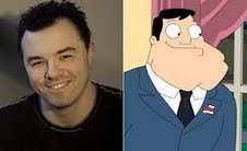 Seth MacFarlane wallpaper probably containing a business suit and a suit called Seth MacFarlane