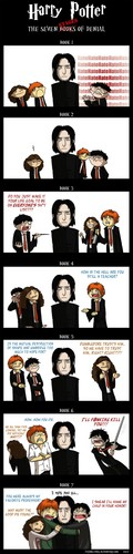 Seven stages of Snape