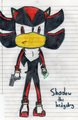 Shadow with gun - shadow-the-hedgehog fan art