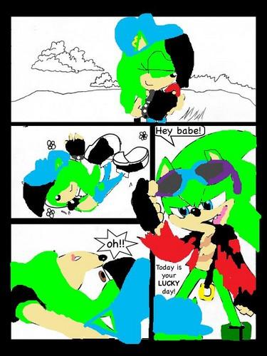 Shaduel comic 1 page 1