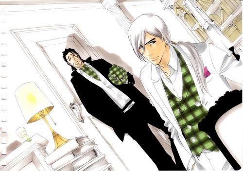 Shunsui and Jushiro - Nakama