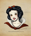 Snow White - childhood-animated-movie-heroines fan art