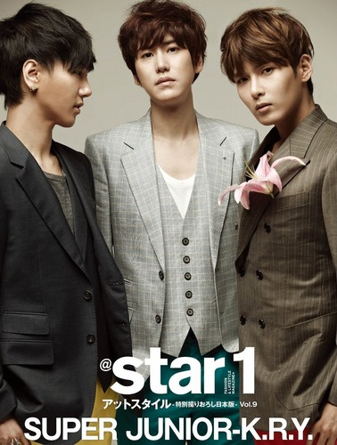 Super Junior KRY - @Star1 Magazine