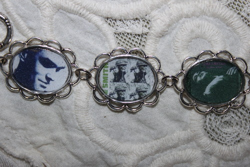 THE SMITHS/MORRISSEY album cover art bracelet