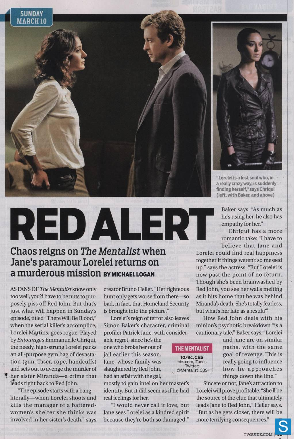 TV Guide Scan- Spoliers