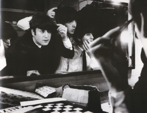 The Beatles and mirrors