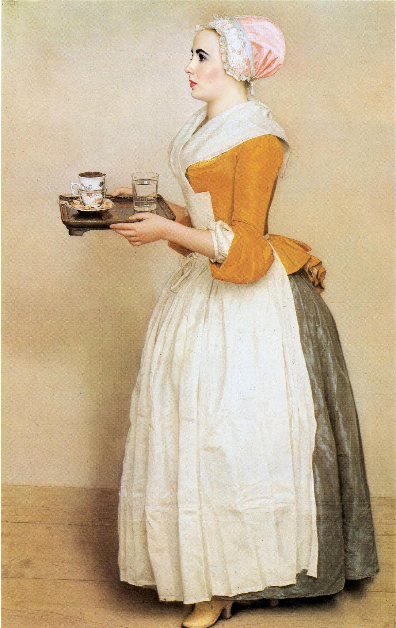 The cokelat Girl