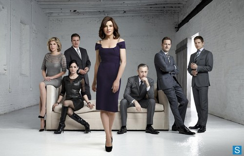 The Good Wife wallpaper containing a business suit and a well dressed person titled The Good Wife - Season 4 - New Cast Promotional Photo