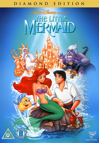 Walt डिज़्नी DVD Covers - The Little Mermaid: Diamond Edition DVD Cover