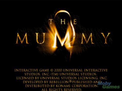 The Mummy Filme Hintergrund entitled The Mummy (video game) screenshot