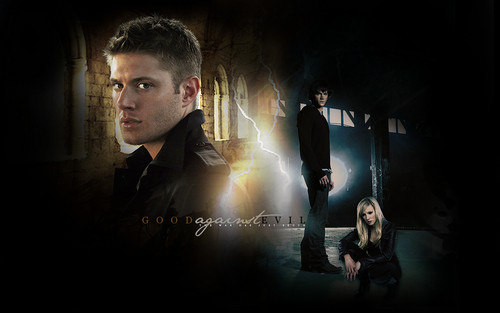 Supernatural wallpaper containing a business suit called The war