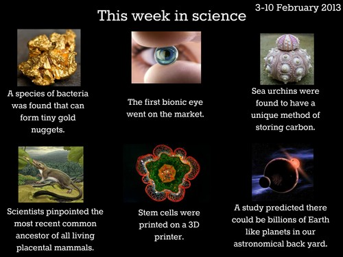 This Week In Science!
