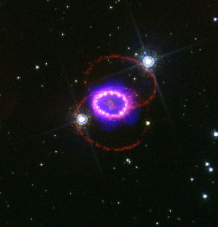 Three Ring Nebula