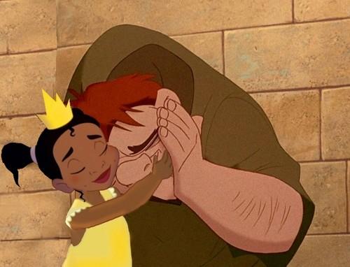 Tiana and Quasimodo