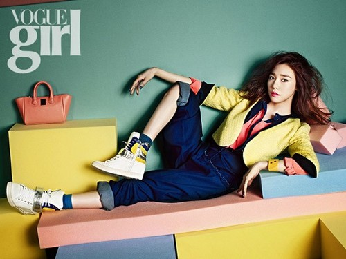 Tiffany for Vogue Girl March issue