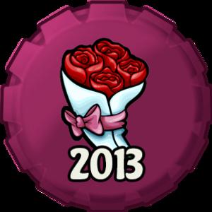 Valentine's hari 2013 topi, cap