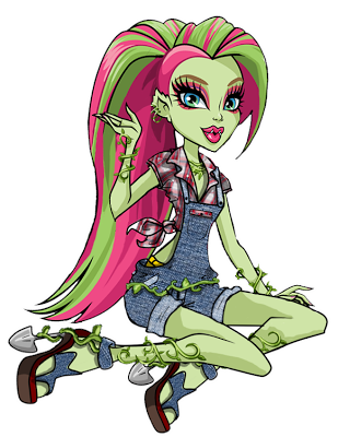 Monster High wallpaper probably containing anime called Venus