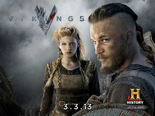 Vikings (TV Series) karatasi la kupamba ukuta containing a green beret and a rifleman entitled Vikings