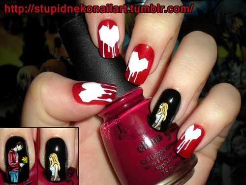 Warm Bodies Movie Hintergrund called Warm Bodies Nail Art