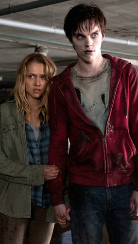 R (Warm Bodies) wallpaper possibly containing an outerwear entitled Warm Bodies