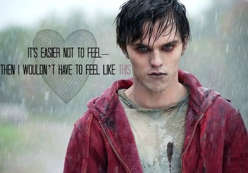 Warm Bodies Movie Обои possibly with an outerwear, a box coat, and a банный халат, халат entitled Warm Bodies