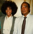 Whitney And Her Father, John Houston
