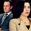 The Good Wife foto with a business suit and a suit entitled Will & Alicia 4x14<3