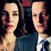 The Good Wife photo containing a business suit titled Will & Alicia 4x14<3