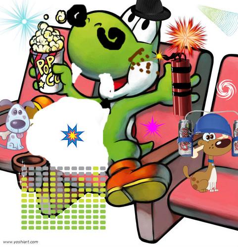 Yoshi in the Strange Theatre