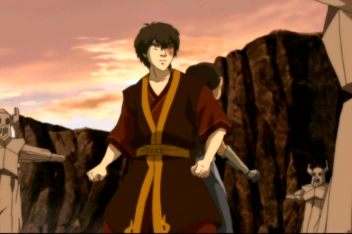 Zuko and Katara wallpaper possibly containing a surcoat, sobretudo and a tabardo, tabard called Zuko Katara