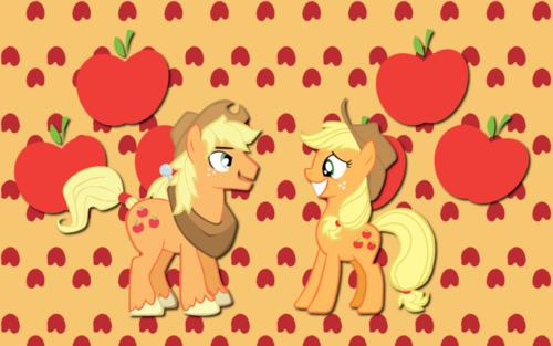 aj and applejack