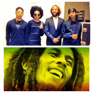 all of them wit bob marley picture!