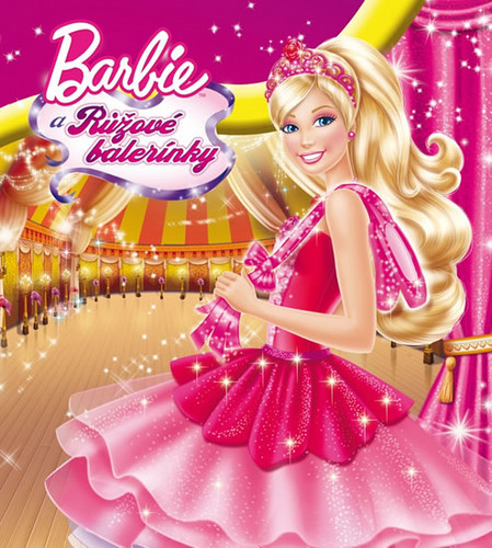 Sinema za Barbie karatasi la kupamba ukuta titled barbie in the pink shoes