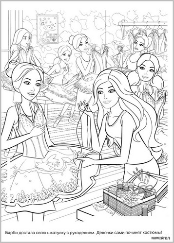 Barbie movies images barbie in the pink shoes hd wallpaper for Barbie in the dream house coloring pages